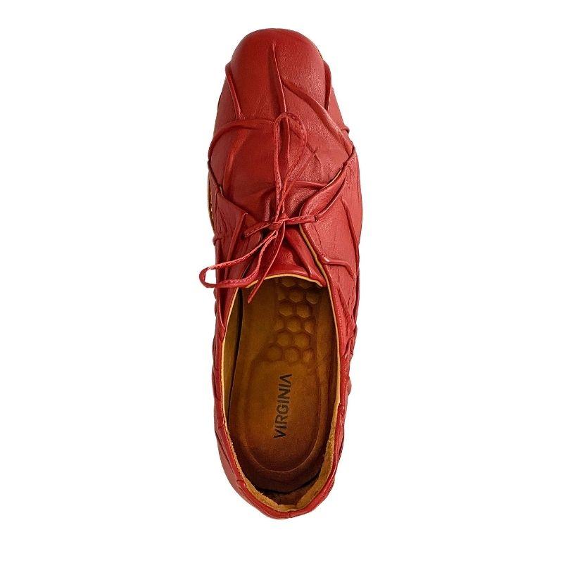 Sapato Oxford Elemento Enrugado