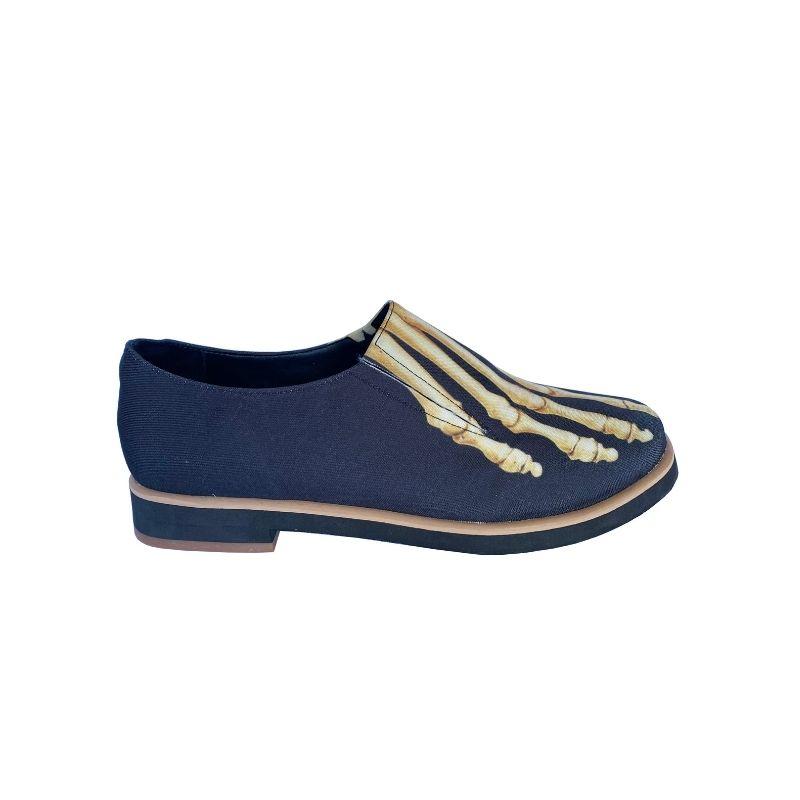 Sapato Slipper Tecido