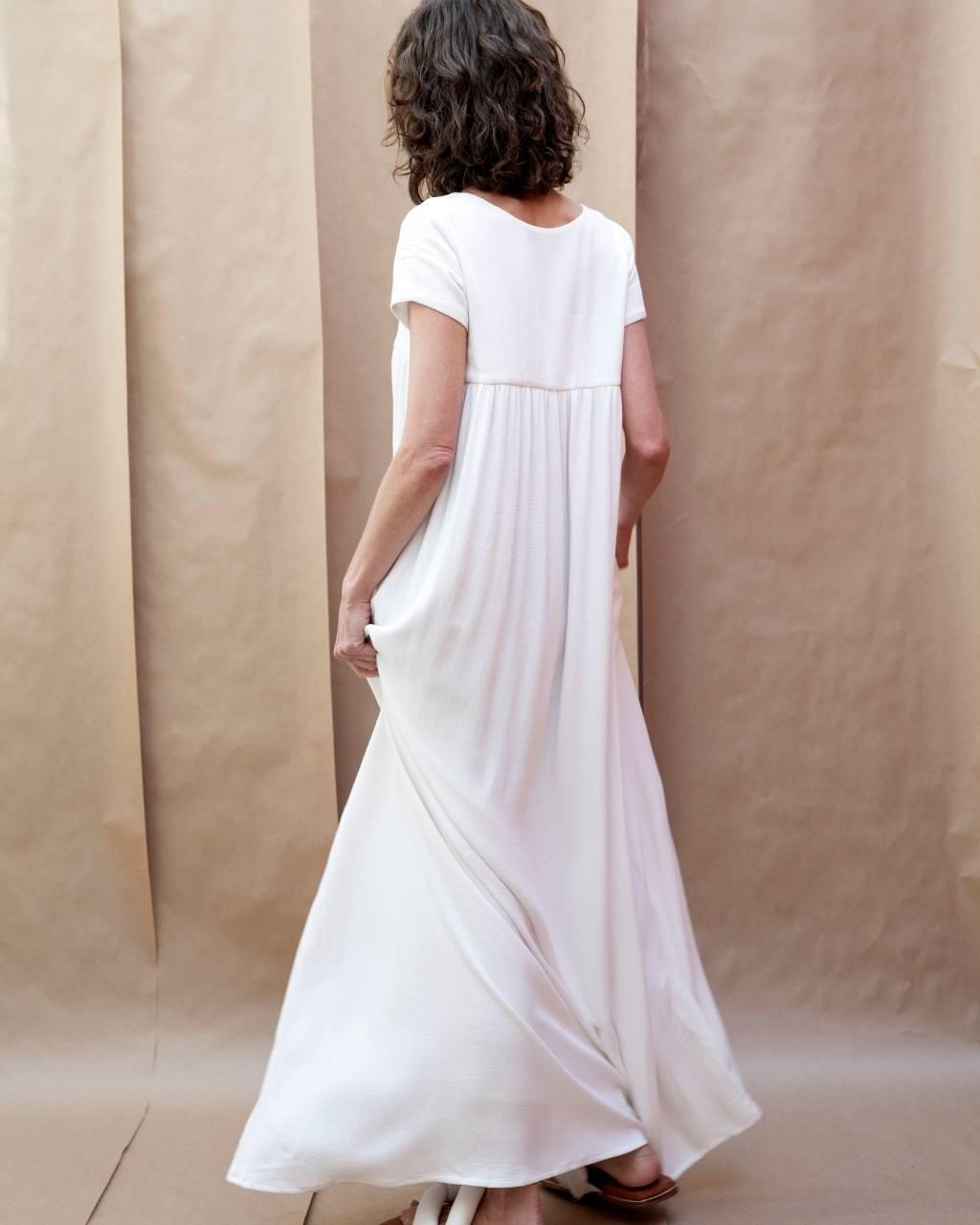 Vestido Longo Séc. XIX