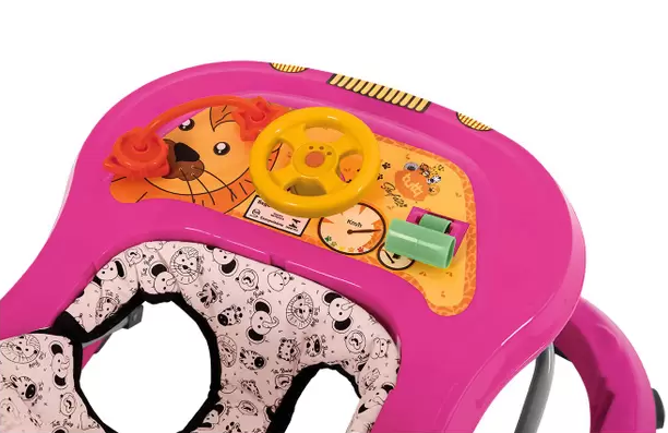 Andador Infantil Tutti Baby Safary - Rosa