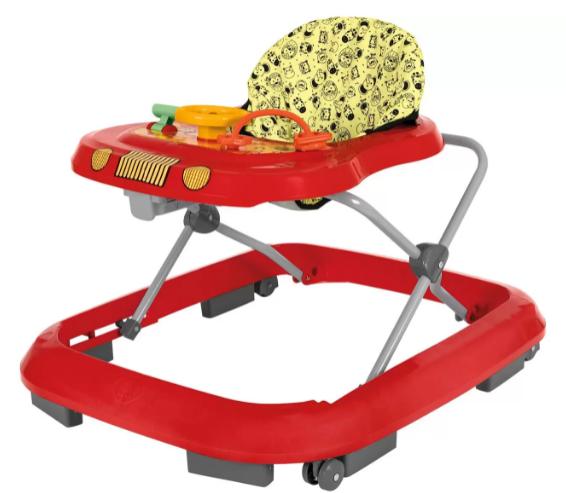 Andador Infantil Tutti Baby Safary - Vermelho