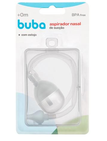 Aspirador Nasal De Sucção c / Estojo  -  BUBA