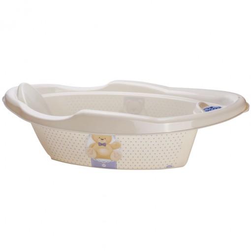 Banheira Decorada Aqua Urso 21L - PLASÚTIL
