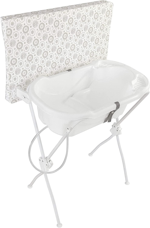 Banheira Trocador Floripa Branco - TUTTI BABY
