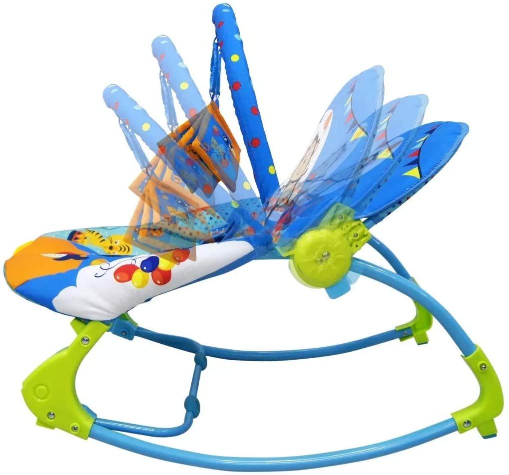 Cadeira De Descanso Azul - NEWROCKER - COLOR BABY