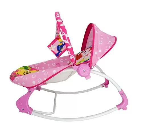 Cadeira De Descanso Musical Rosa - DICAN