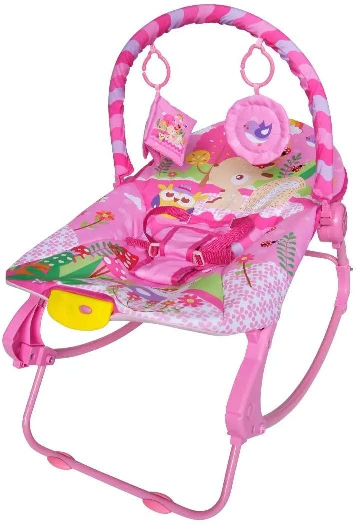 Cadeira De Descanso Rosa -  NEWROCKER - COLOR BABY