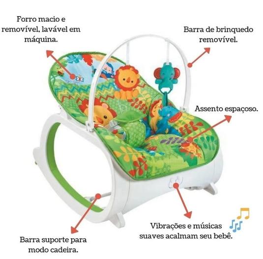 Cadeira De Descanso  Safari - COLOR BABY
