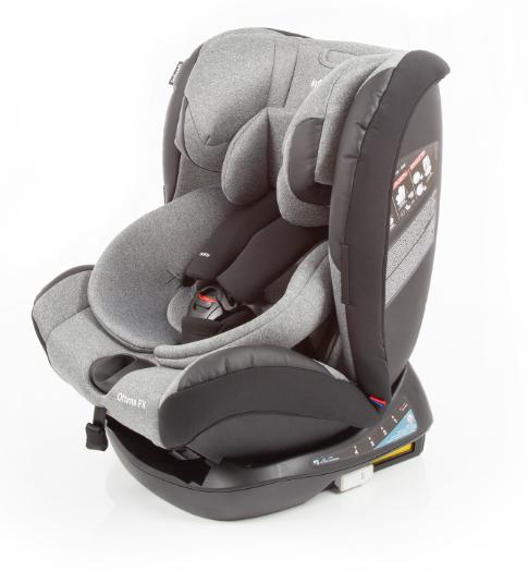 Cadeira Para Auto de 0 a 36Kg - Ottima FX Grey