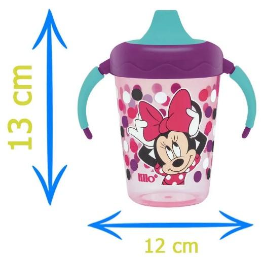 Caneca Aprendizado Disney Minnie Lilás