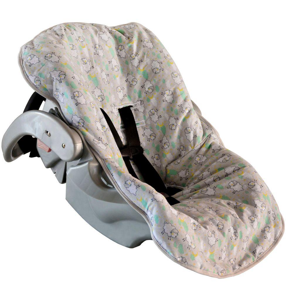 Capa Para Bebê Conforto Ovelhas - BAMBI