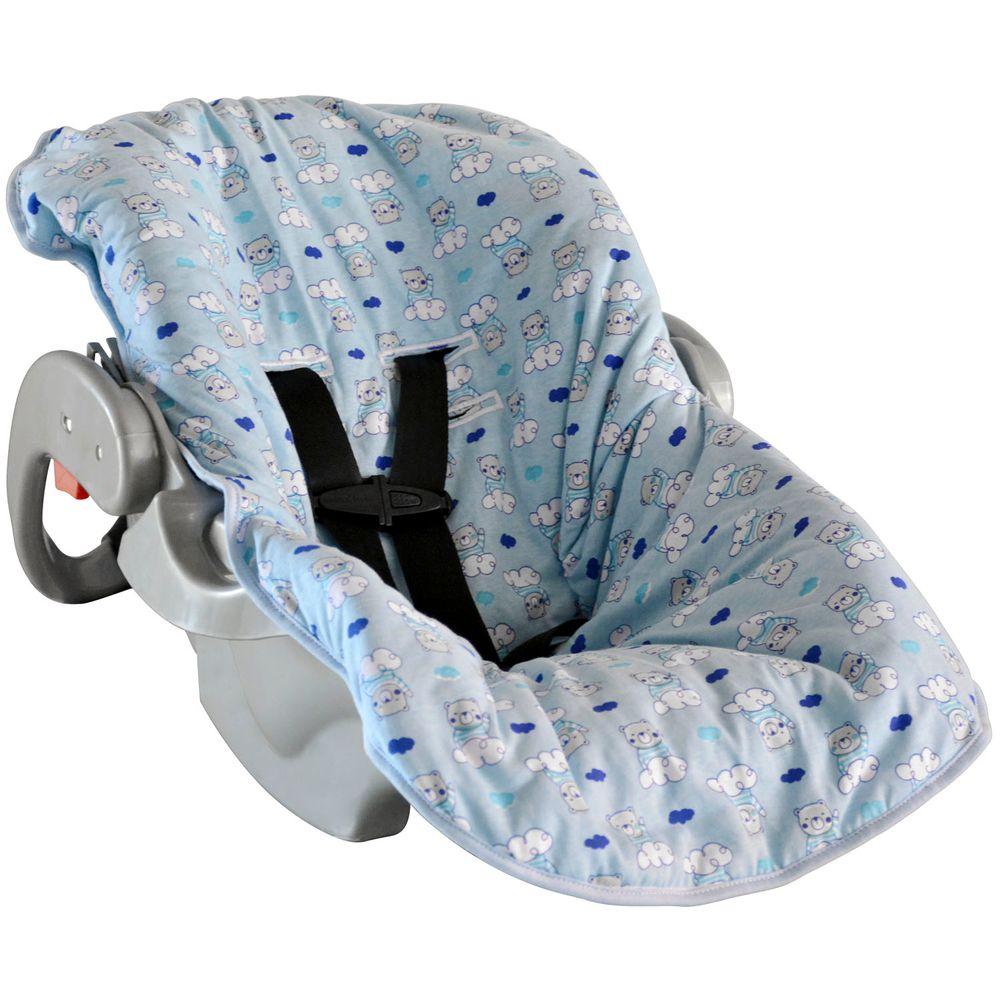Capa Para Bebê Conforto Ursinho Nuvem  - BAMBI