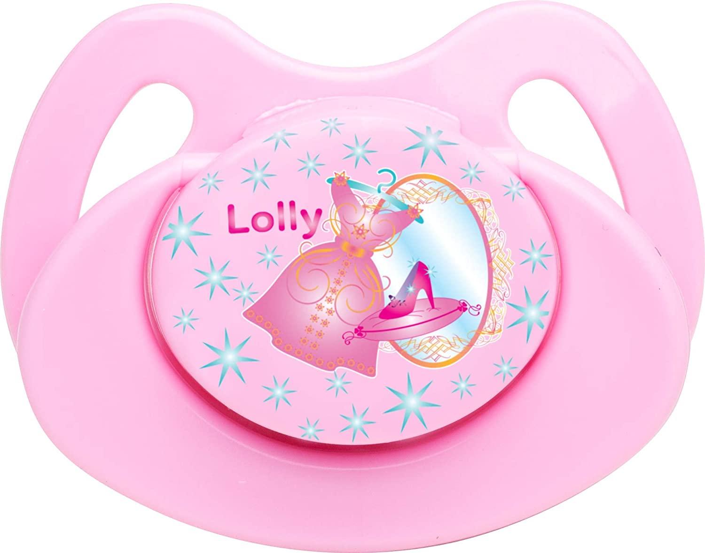 Chupeta Lolly  Rosa - Tamanho 1