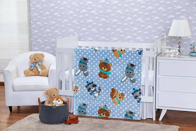 Cobertor Toque De Seda Baby Friends - ETRURIA
