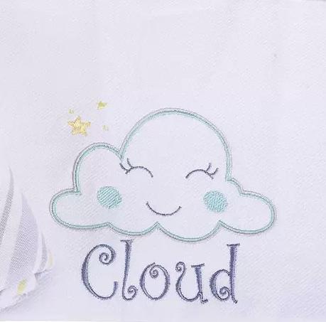 Cueiro Linha Baby Nice Cloud - Minasrey