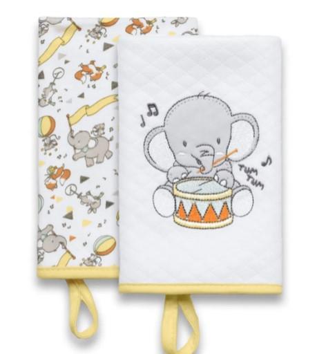 Kit Com 2 Babetes Festa dos Bichos - Hug