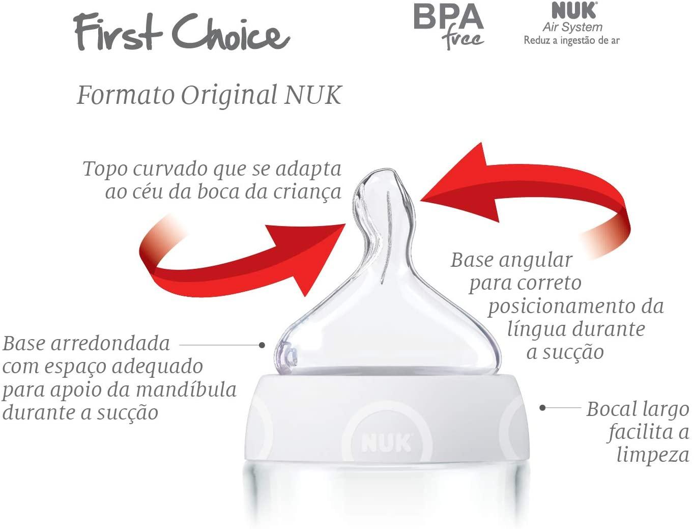 Kit Mamadeiras 2 Pcs Rosa - NUK