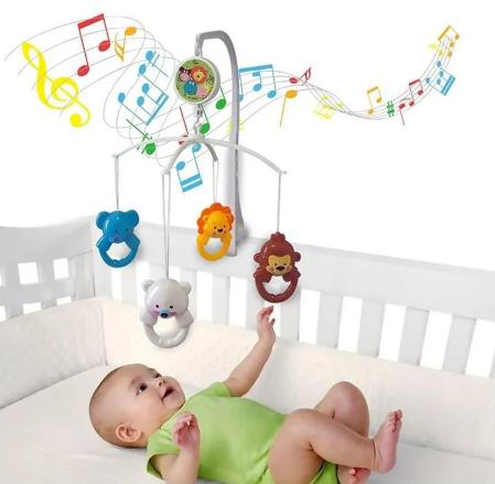 Móbile Musical para Berço - KitStar