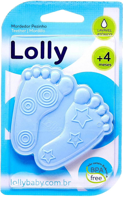 Mordedor de Pezinho Azul Lolly
