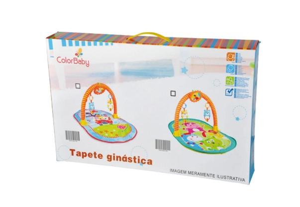 TAPETE DE GINÁSTICA ZOO - COLOR BABY