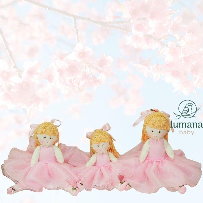 Trio De Bonecas Decorativas - Bailarinas