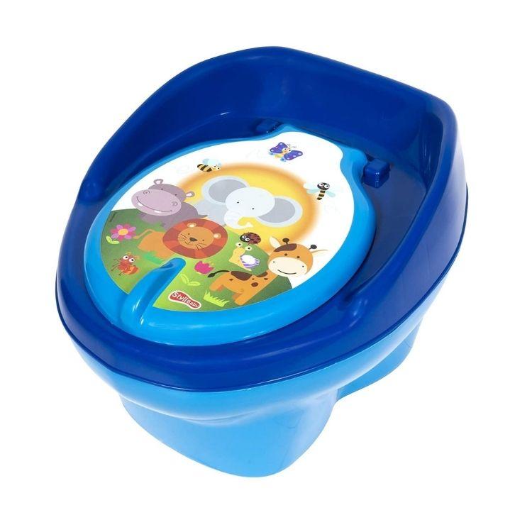 Troninho Styll Baby Azul Bebê / Azul Bic