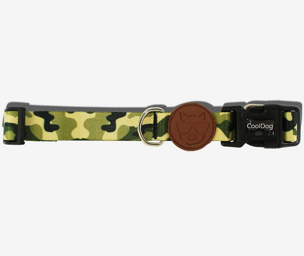 Coleira Army CoolDog