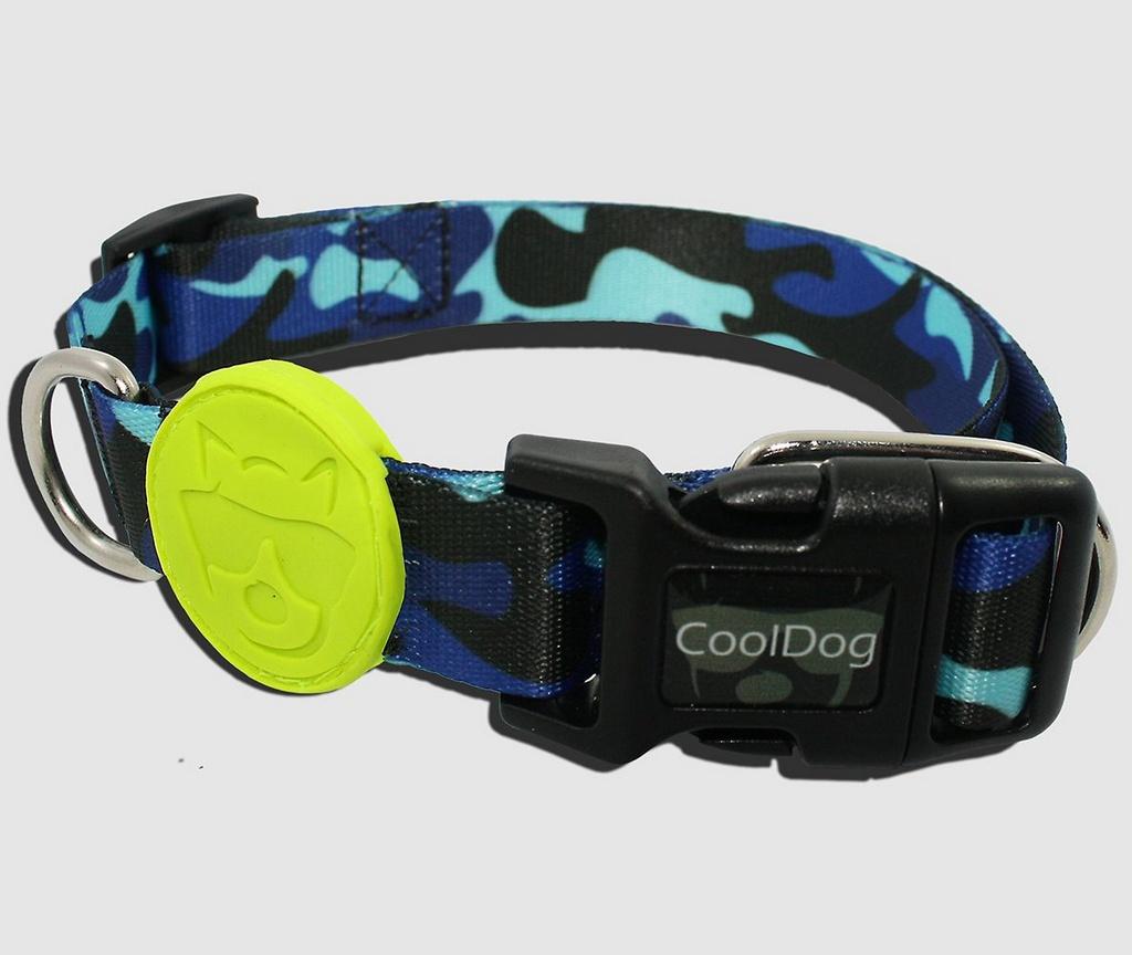 Coleira Blue Army - CoolDog