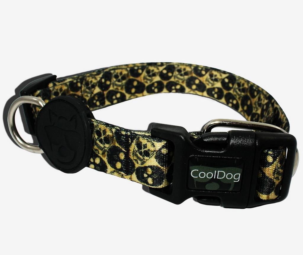 Coleira Skull CoolDog