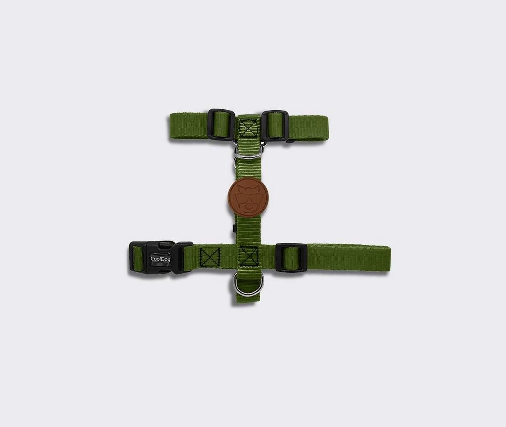 Peitoral H Verde Musgo CoolDog