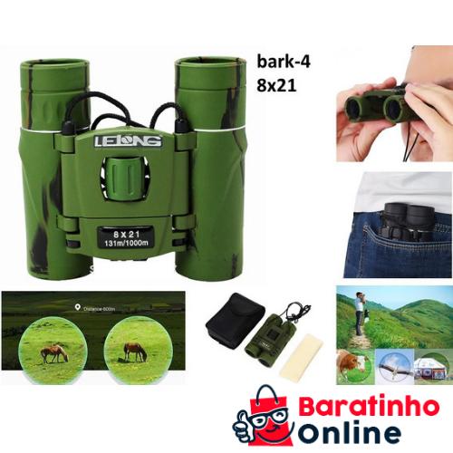 Binóculo 8x211 LE-2050 Camuflado  - Baratinho Online