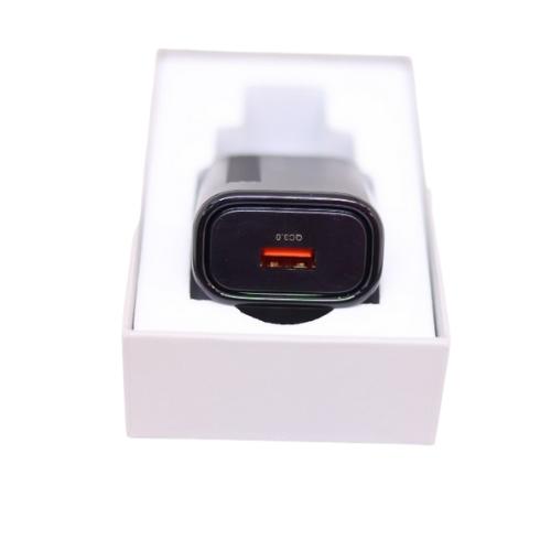 Carregador Usb A 18w Qualcomm 3.0 Black Matte / Volp  - Baratinho Online
