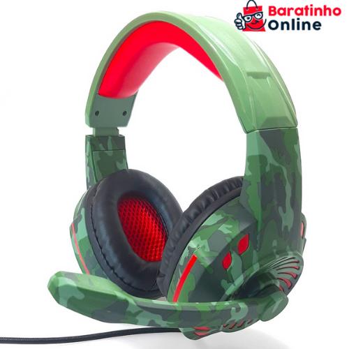 Headset Gamer PX-2 Space Camo Tech Drive  - Baratinho Online