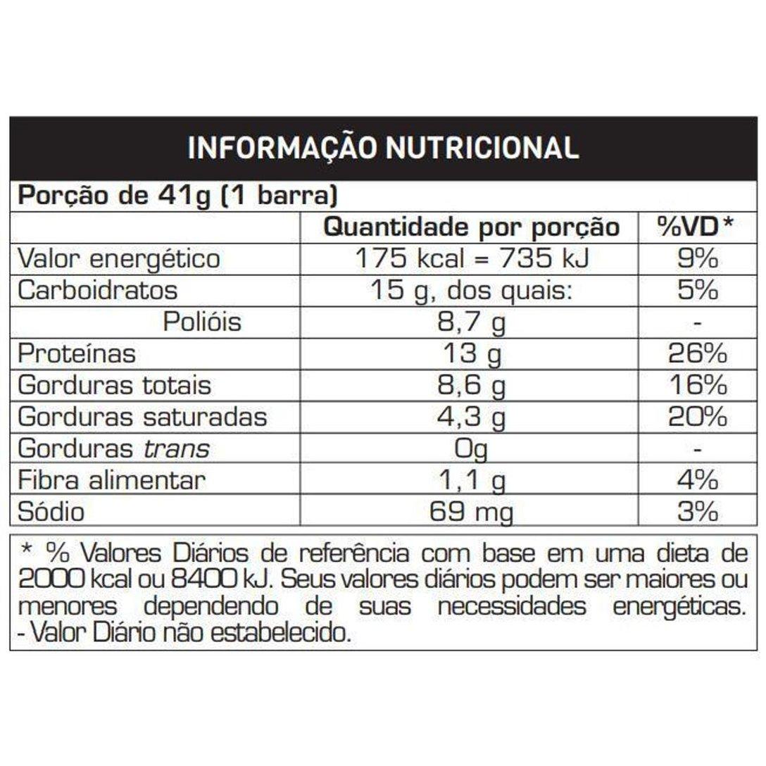 POWER PROTEIN BAR MORANGO SENSATION  8 UN DE 90G  - Baratinho Online