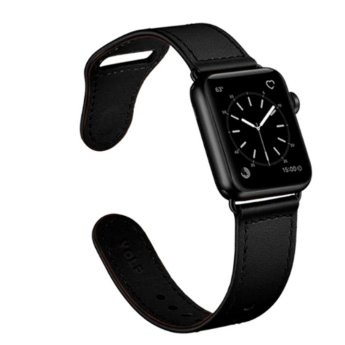 Pulseira Apple Watch 42&40mm Preto  - Baratinho Online