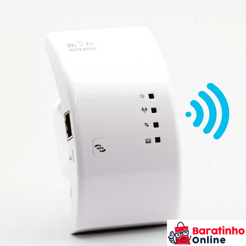 Roteador Repetidor Wireless-n Sinal Wifi Repeater 300mbps  - Baratinho Online
