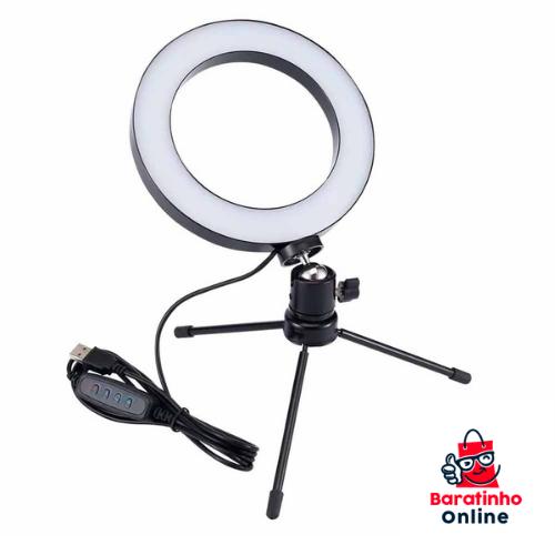 Ring Fill Light 6 Polegadas  - Baratinho Online