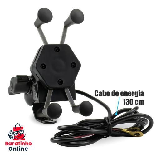 Suporte de Celular p/Motocicleta  - Baratinho Online