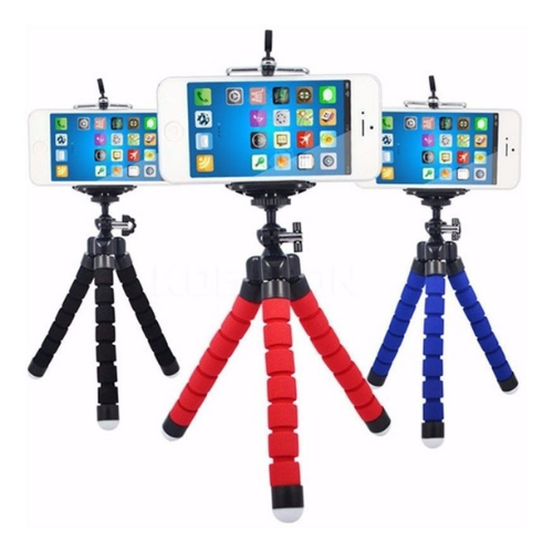 Tripé Celular Portátil Mini Suporte Flexível Apoio Celular  - Baratinho Online