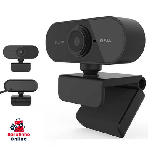 Webcam Full Hd 1080p Usb Câmera Stream Live Alta Resolução  - Baratinho Online