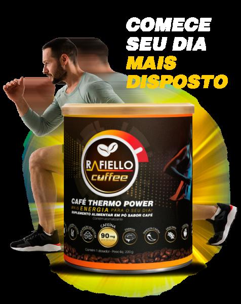 2 x Café Termogênico Vegano Funcional Pré Treino  Rafiello Coffee  S/glútem Zero Lactose 220g Kit 2 Unidades