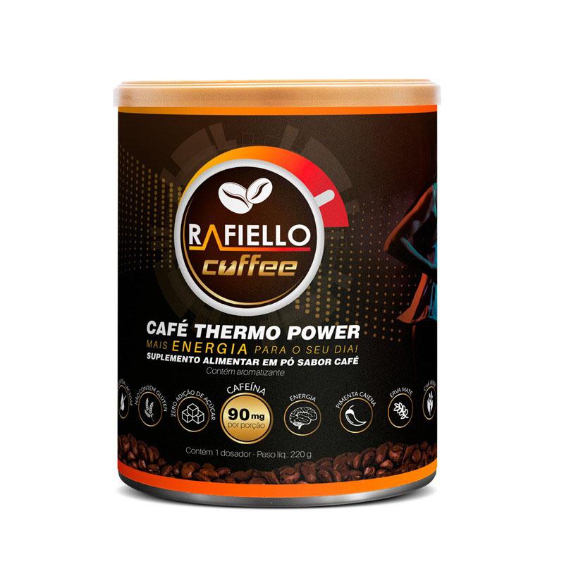 Café Termogênico Vegano Funcional Pré Treino  Rafiello Coffee  S/glútem Zero Lactose 220g
