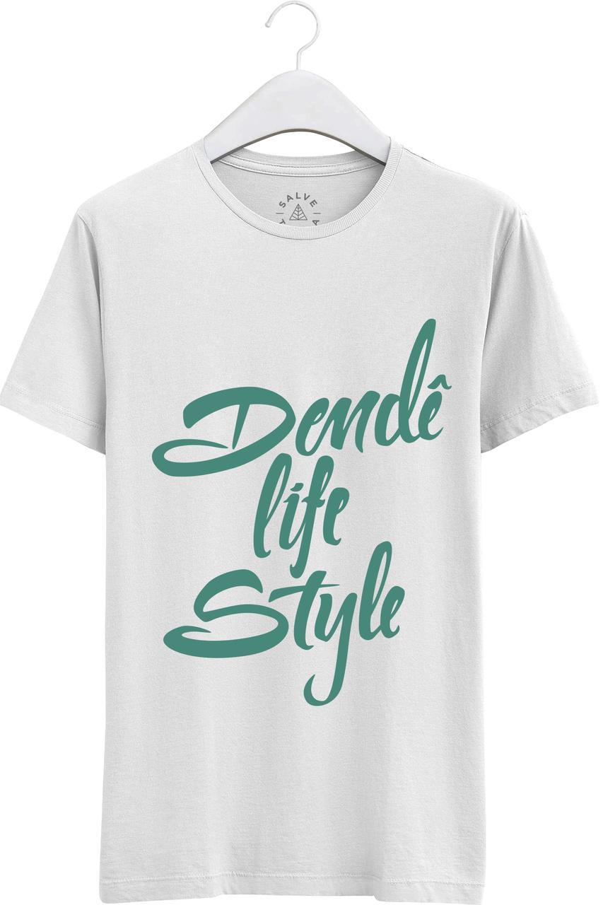 Camiseta Masculina Dendê Life Style.