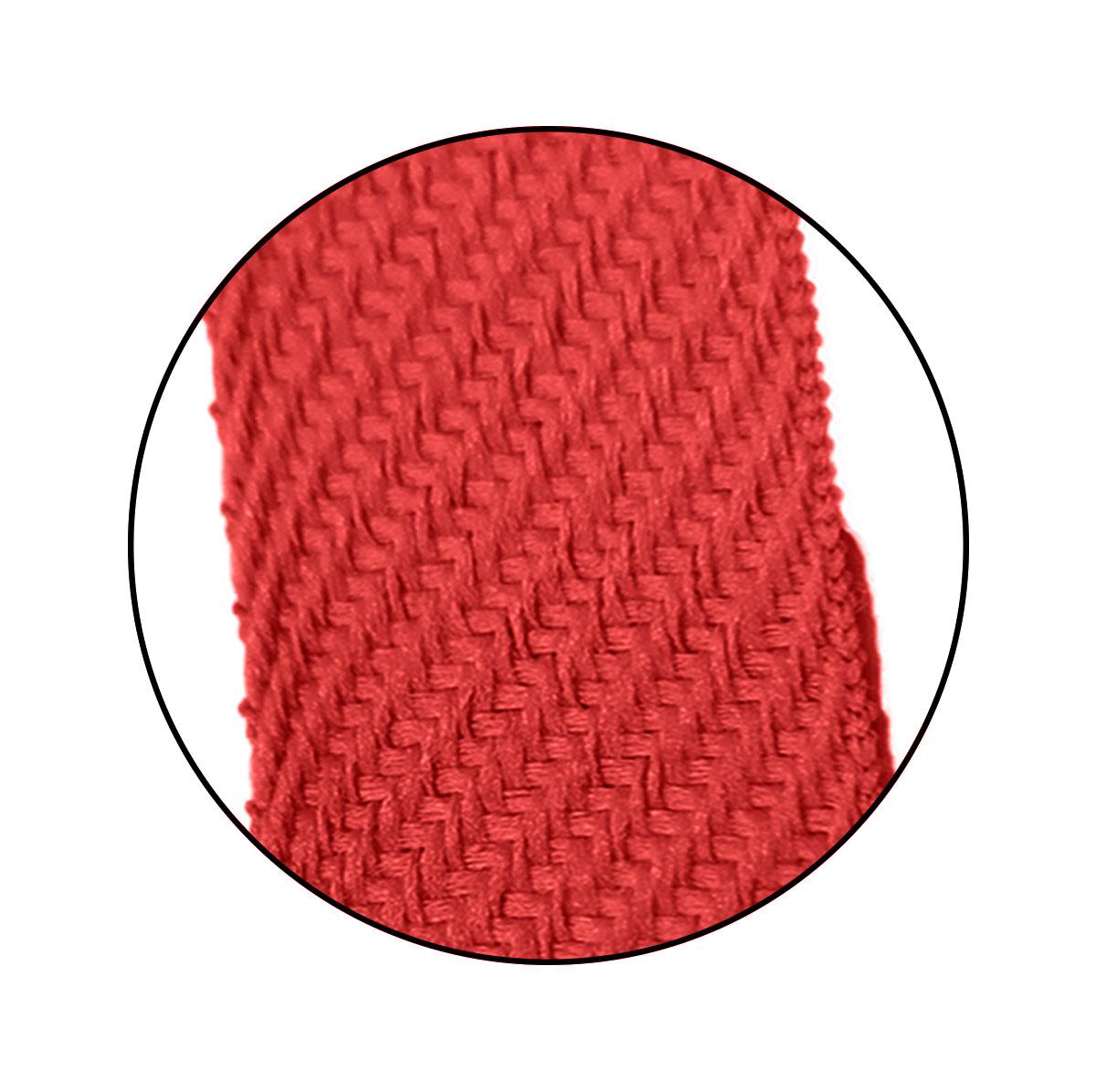 Alça Chata 7mm x 37 cm - Cortada S/ Acetato (100 unidades)