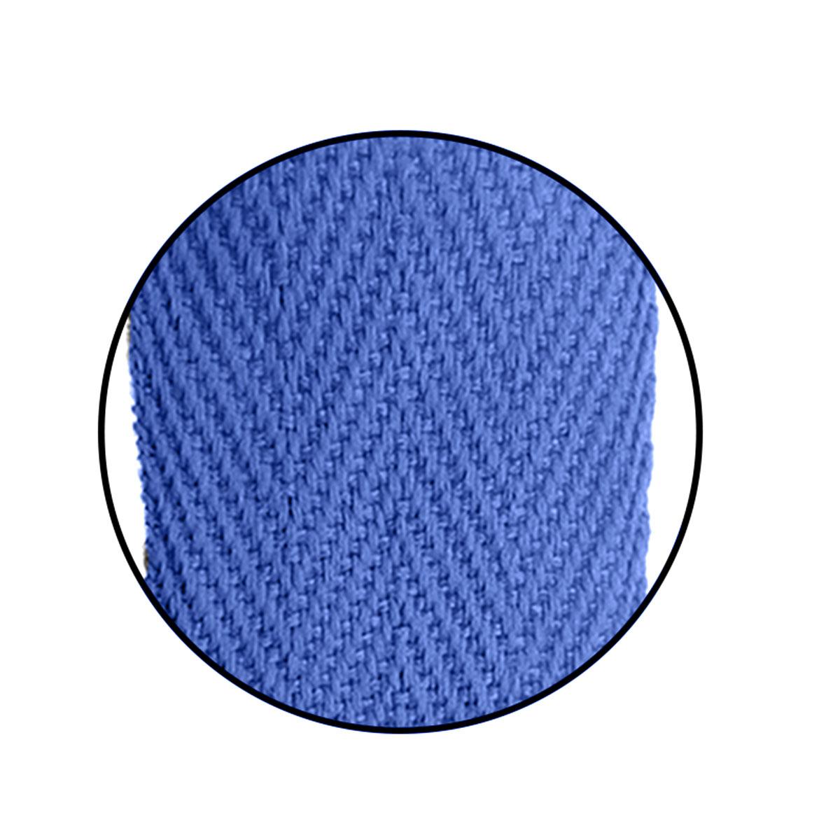 Alça Gorgurão (Escama) 25mm x 37 cm - Com Ponteira de Acetato Cristal (100unidades)