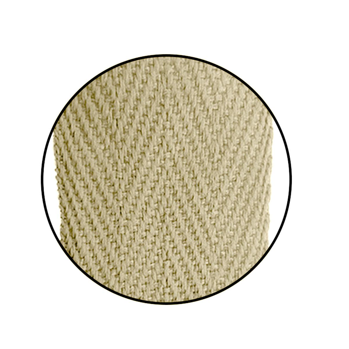 Alça Gorgurão (Escama) 25mm x 37 cm - Cortada S/ Acetato (100unidades)