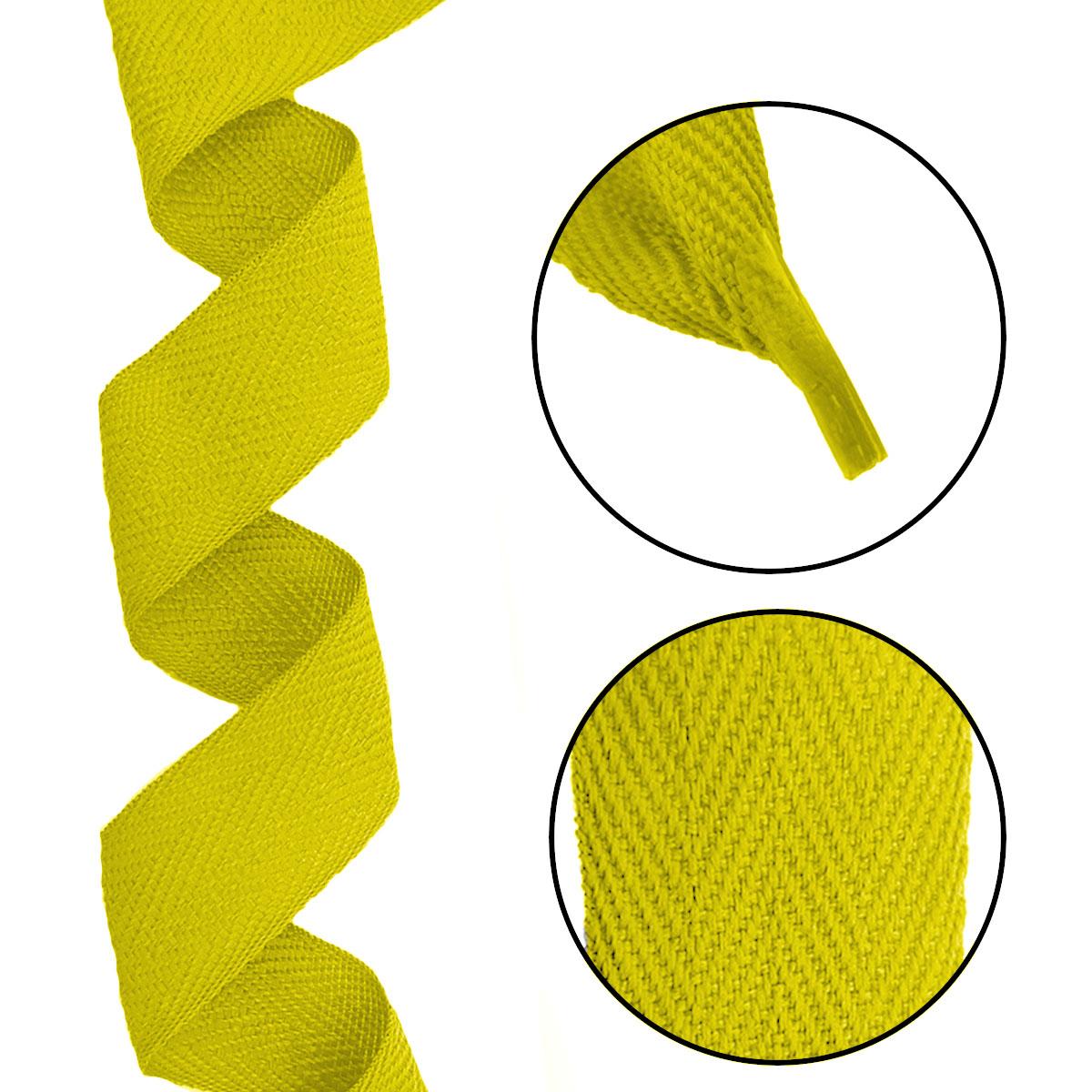 Alça Gorgurão (Escama) 25mm x 45 cm - Com Ponteira de Acetato Cristal (100 unidades)