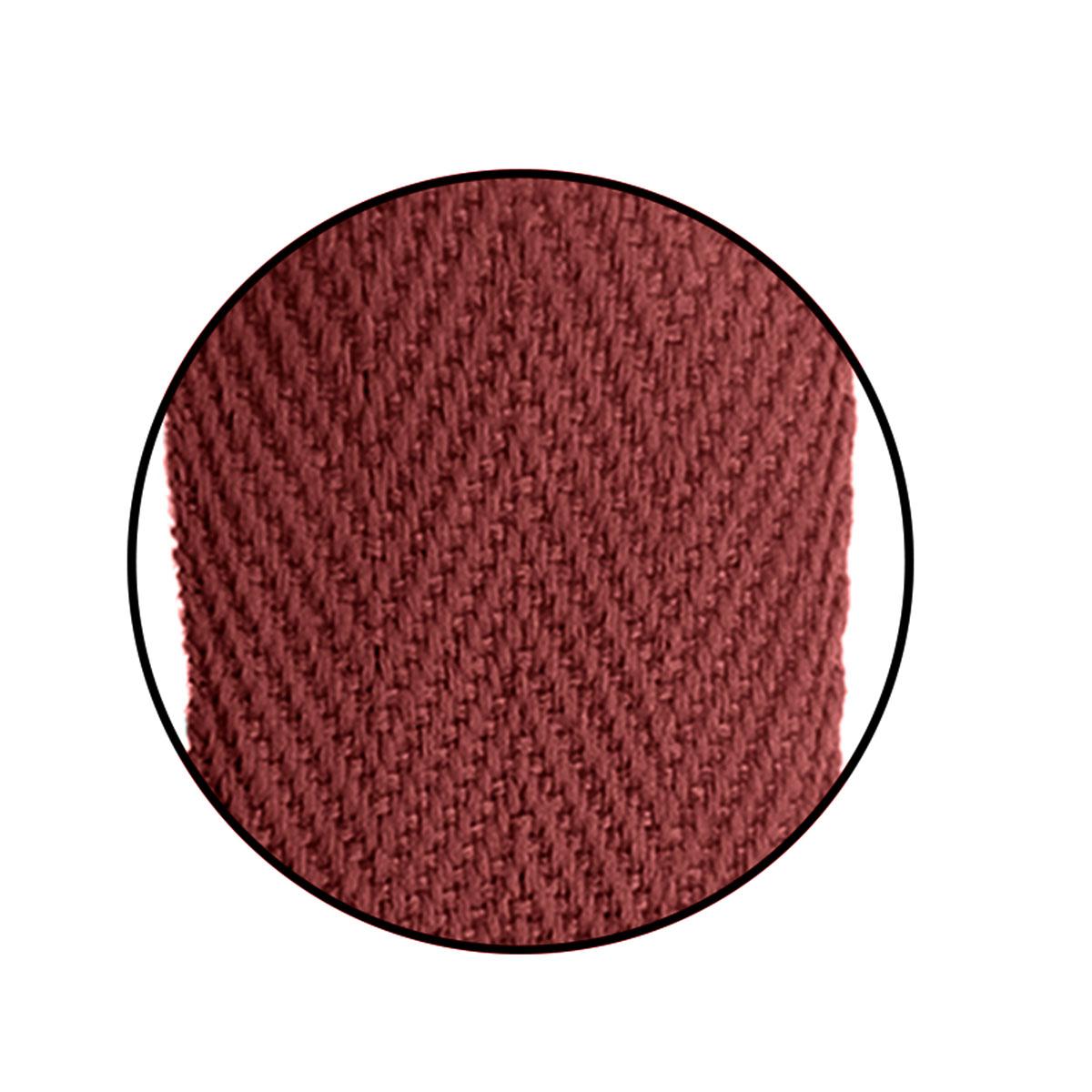 Alça Gorgurão (Escama) 25mm x 45 cm - Cortada S/ Acetato (100 unidades)