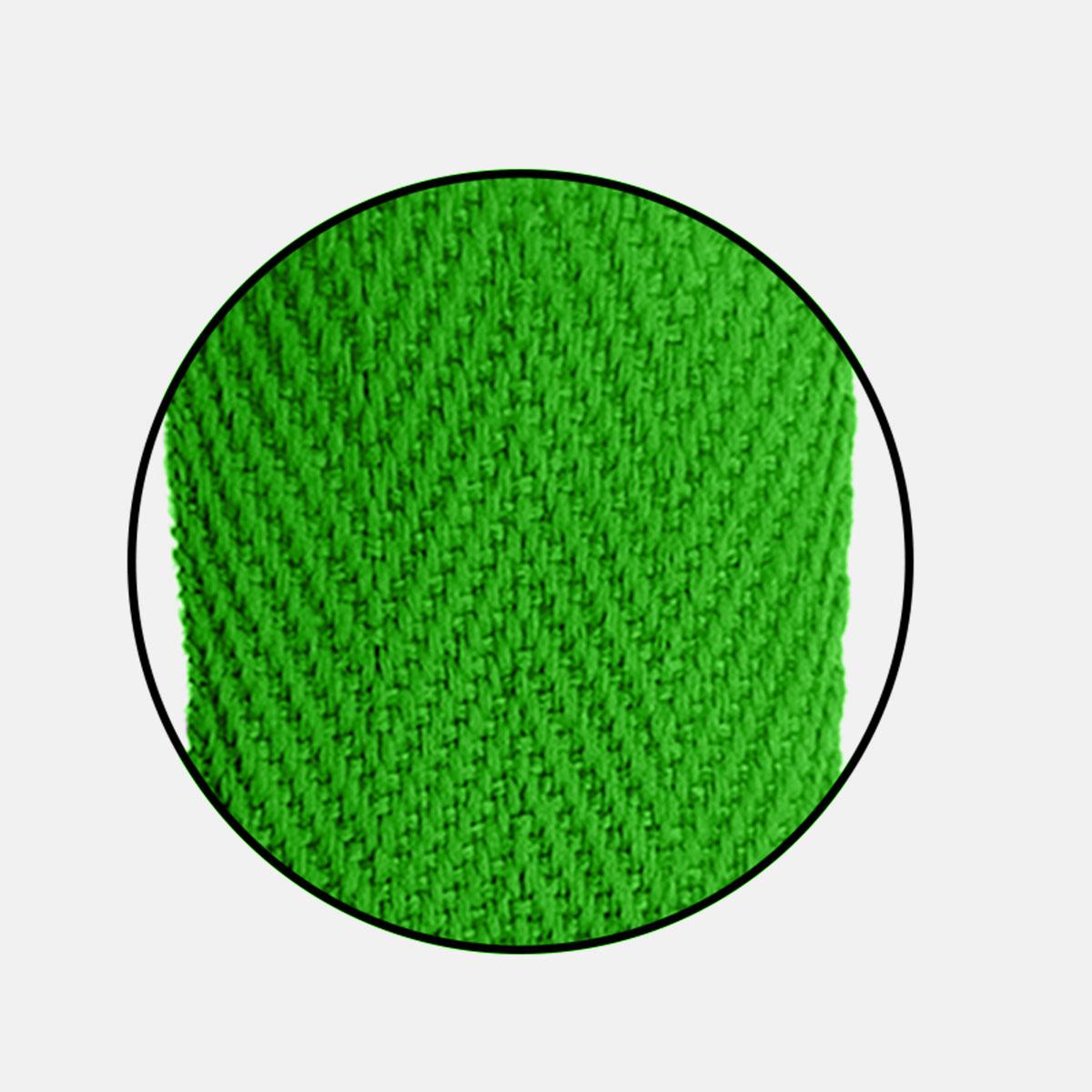 Alça Gorgurão (Escama) 25mm x 60 cm - Com Ponteira de Acetato Cristal (100 unidades)
