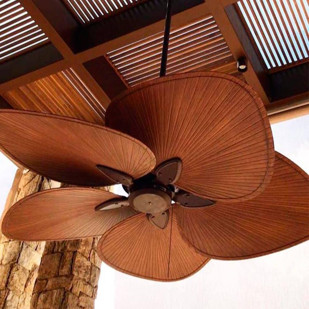 Ventilador de Teto Windpoint Folha de Palmeira - PÁS em ABS